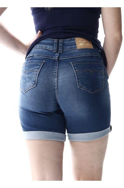 Bermuda Jeans Feminina Intermediaria - 256450