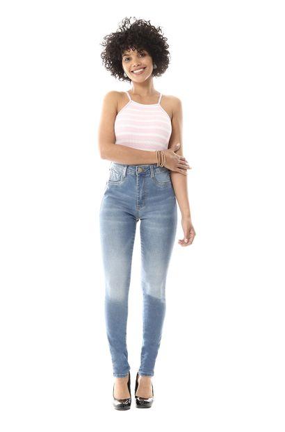 Calaça Jeans Feminina Legging Super Lipo - 256507