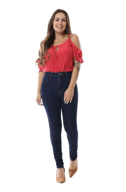 Calça Jeans Feminina Legging Super Lipo - 256169