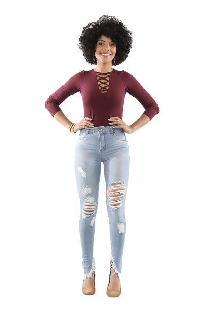 Calça Jeans Feminina Cigarrete UP - 250540