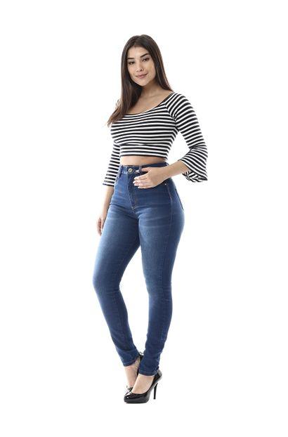 Calça Jeans Feminina Legging Super Lipo - 255845