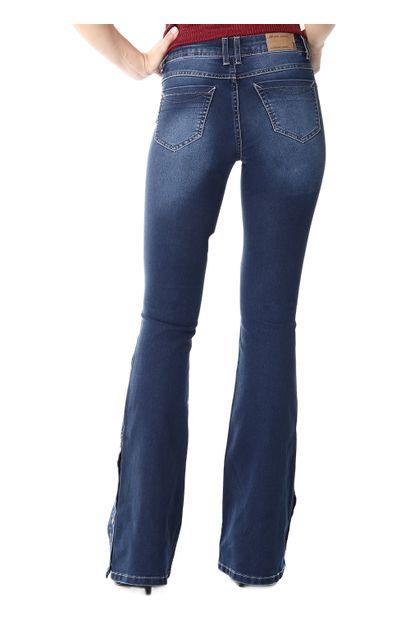 Calça Jeans Feminina Flare - 253826