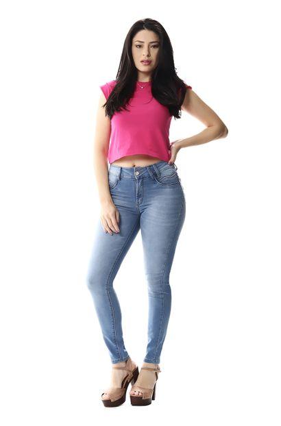 Calça Jeans Feminina Cigarrete - 256368