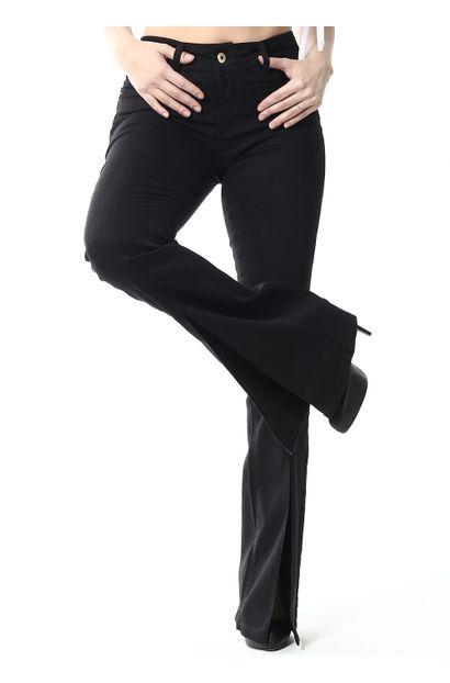 Calça Jeans Feminina Flare Intermediaria - 255303