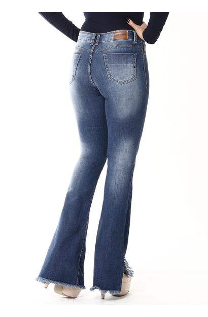 Calça Jeans Feminina Flare - 254780
