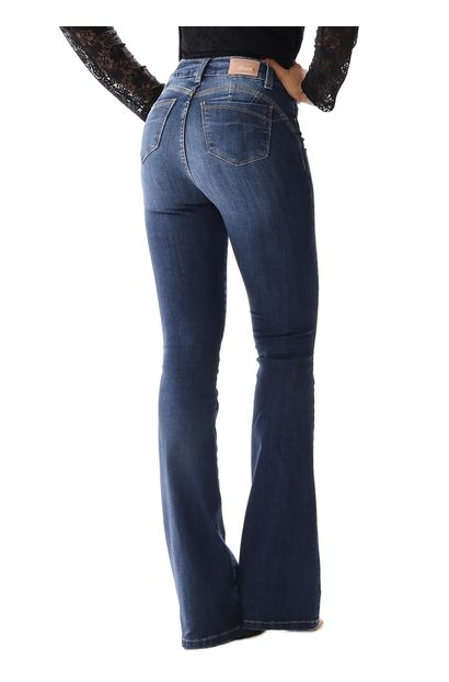 Calça Jeans Feminina Flare - 254965