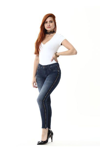 Calça Jeans Feminina Cigarrete - 254969