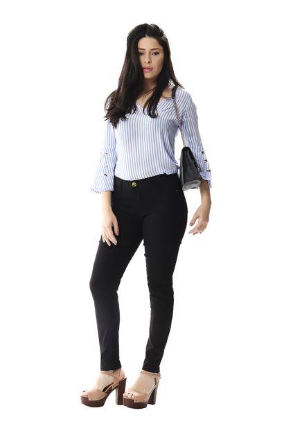Calça Jeans Feminina Cigarrete Up - 256065