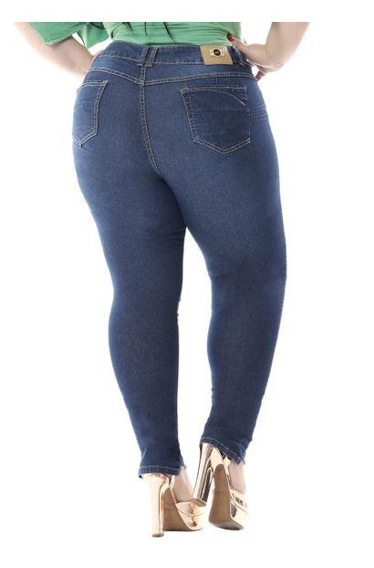 Calça Jeans Feminina Cigarrete Plus size - 255754