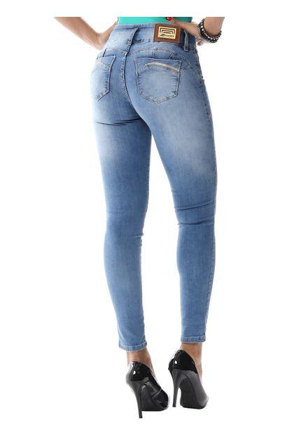 Calça Jeans Feminina Cigarrete Modela e levanta bumbum - 255899