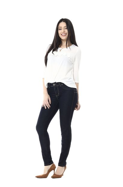 Calça Jeans Feminina Levanta Bumbum - 254572