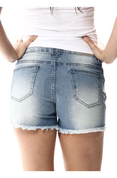 Shorts Jeans Feminino Boyfriend - 256572