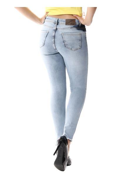 Calça Jeans Feminina Cigarrete - 256174
