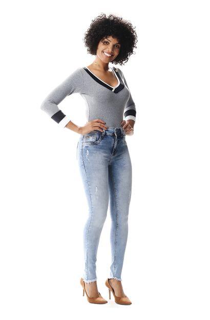 Calça Jeans Feminina Cigarrete - 256592