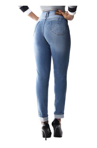 Calça Jeans Feminina Cigarrete Intermediaria - 256166