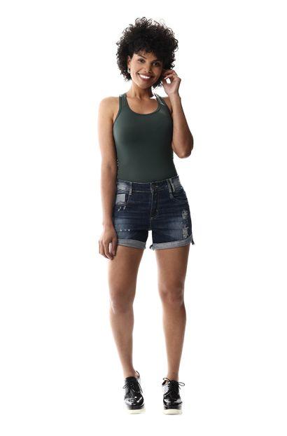 Shorts Jeans Feminino Boyfriend - 256703