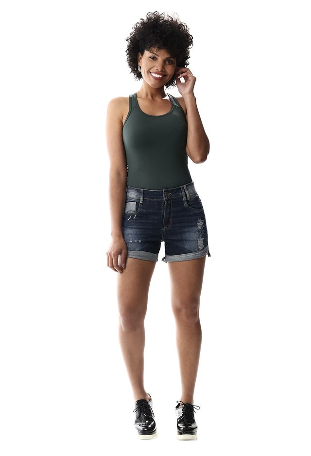 09c42a5c1 Shorts Jeans Feminino Boyfriend - 256703 - SawaryB2C