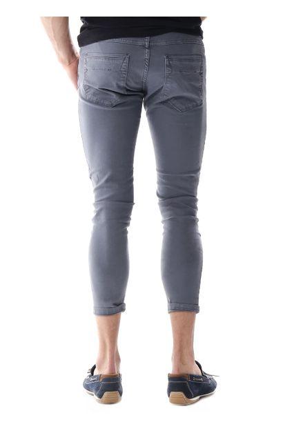 Calça Jeans Masculina Cropped - 257206