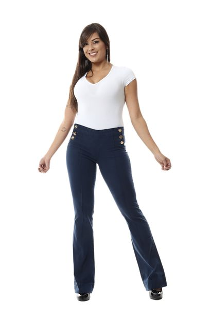 Calça Jeans Feminina Flare - 251350