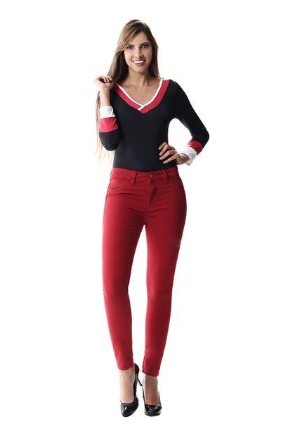 Calça Jeans Feminina Cigarrete Up - 256741