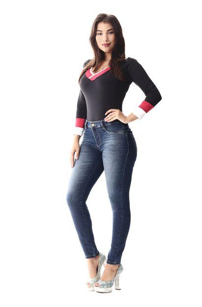 Calça Jeans Feminina Cigarrete Heart - 256892