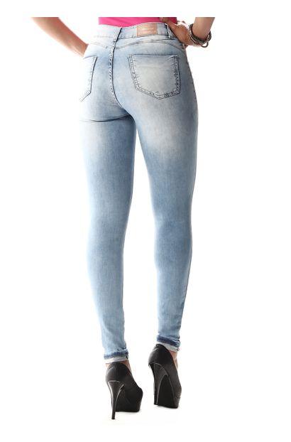 Calça Jeans Feminina Cigarrete Push Up - 256870