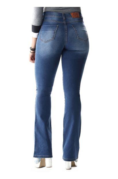 Calça Jeans Feminina Flare - 254538