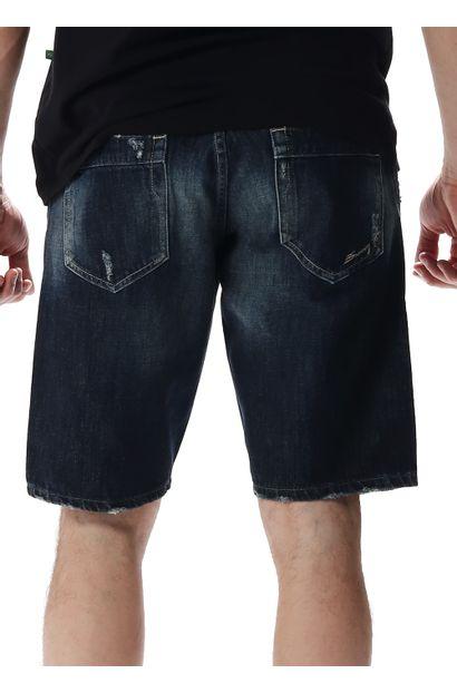 Bermuda Jeans Masculina - 256927