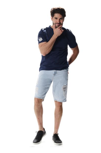 Bermuda Jeans Masculina - 257101