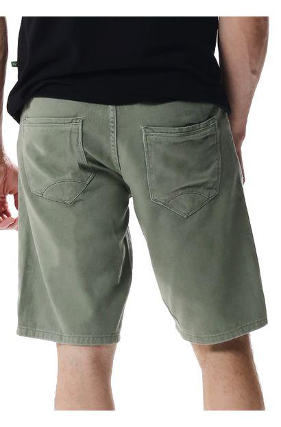 Bermuda Jeans Masculina Verde - 257665