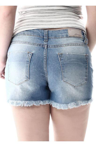 Shorts Jeans Feminino Boyfriend - 256900