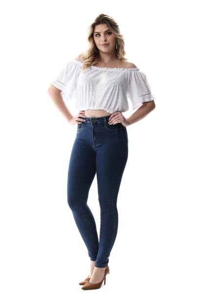 Calça Jeans Feminina Legging Super Lipo - 256829