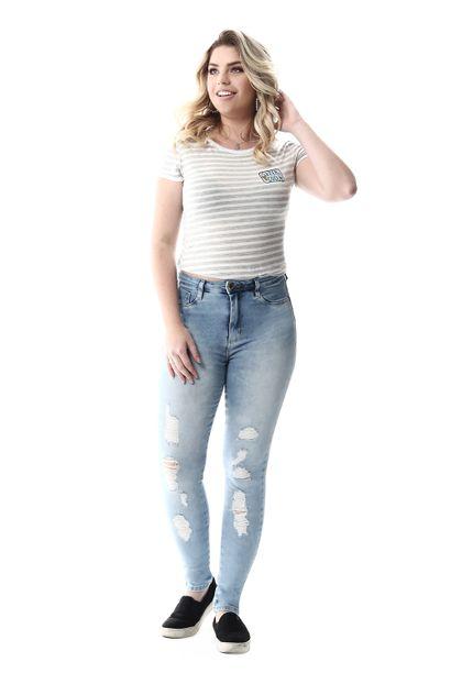 Calça Jeans Feminina Legging Super Lipo - 257282
