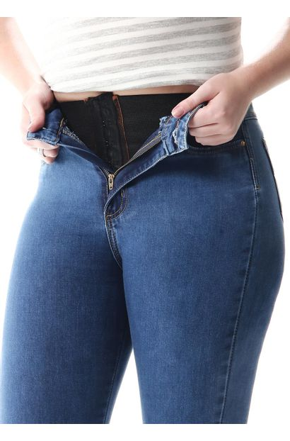 Calça Jeans Feminina Flare Super Lipo - 256799