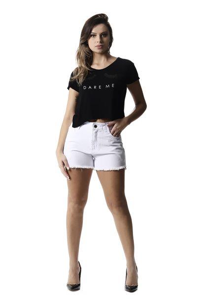 Shorts Jeans Feminino Boyfriend - 257388