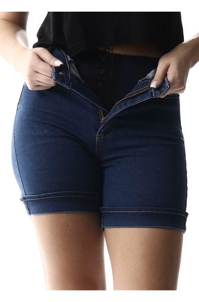 Bermuda Jeans Feminina Super Lipo - 257233