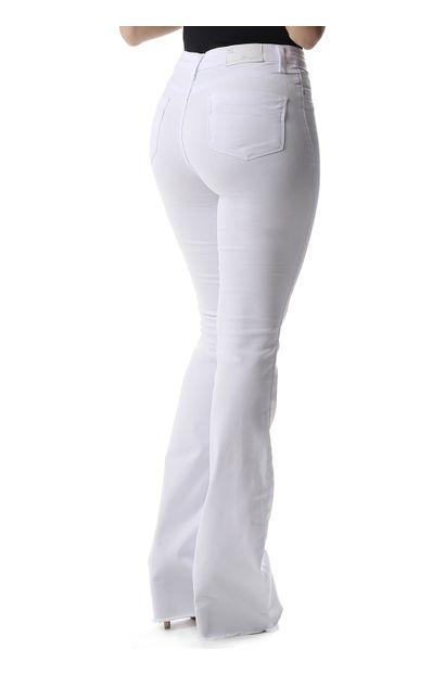Calça Jeans Feminina Flare Push Up - 257688