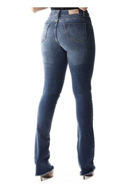 Calça Jeans Feminina Flare Push Up - 257310