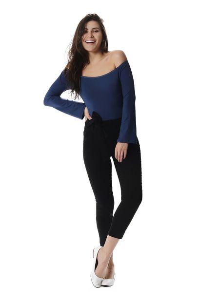 Calça Jeans Feminina Cropped - 257560