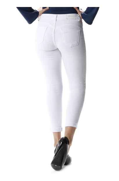 Calça Jeans Feminina Cropped Heart Jeans - 257645