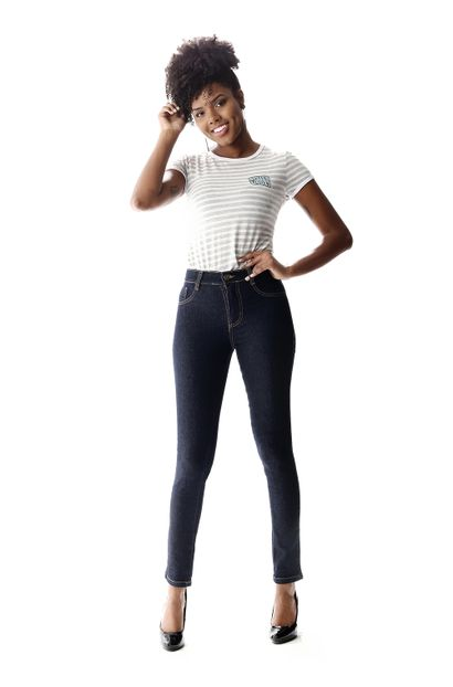 Calça Jeans Feminina Legging Hot Pants - 257572