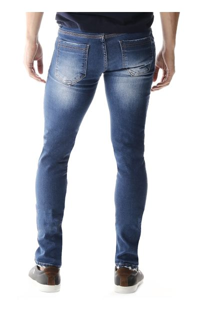 Calça Jeans Masculina Skinny - 257557