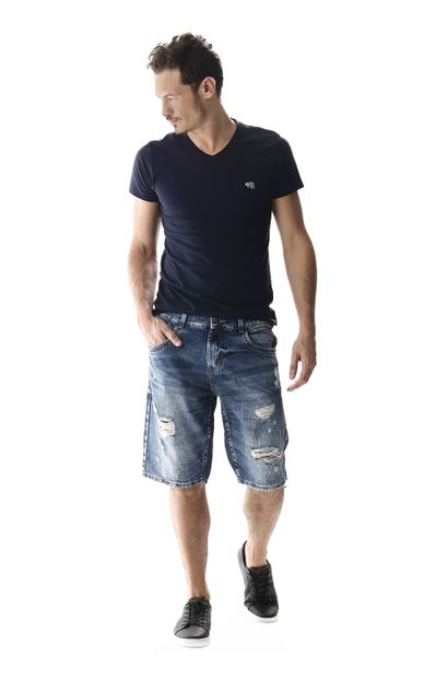 Bermuda Jeans Masculina - 257331