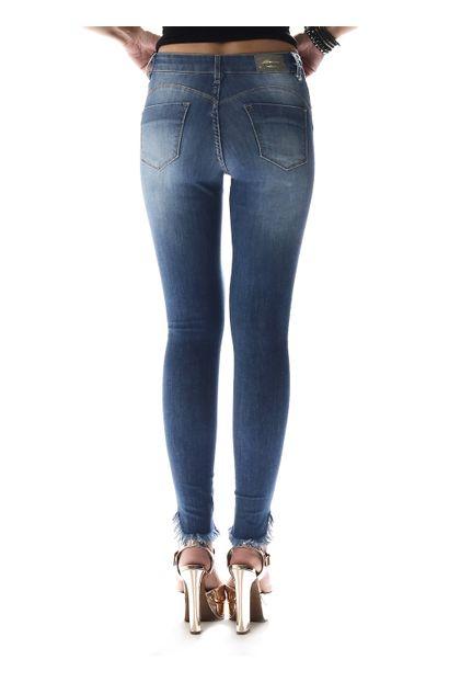 Calça Jeans Feminina Cigarrete Heart - 257391