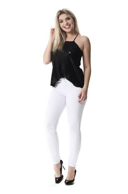 Calça Jeans Feminina Cigarrete - 257988