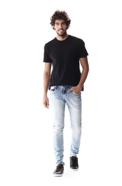 Calça Jeans Masculina Skinny - 257078