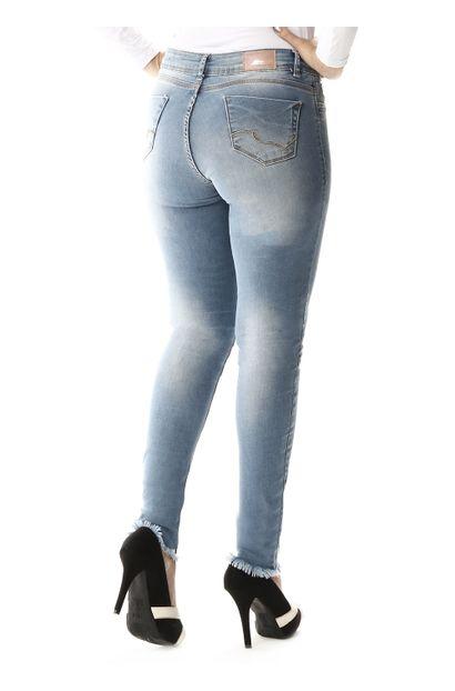 Calça Jeans Feminina Cigarrete Up - 257602