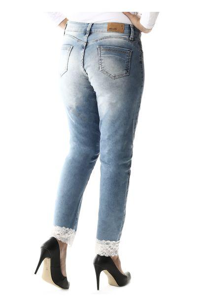 Calça Jeans Feminina Cropped - 257540