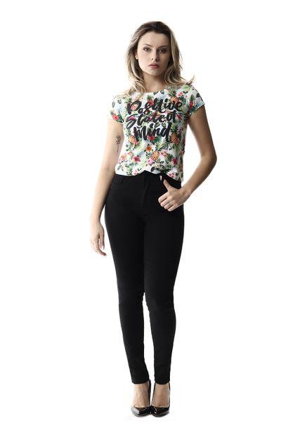 Calça Jeans Feminina Super Lipo Preta - 258073