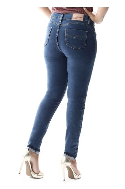 Calça Jeans Feminina Cigarrete - 257100